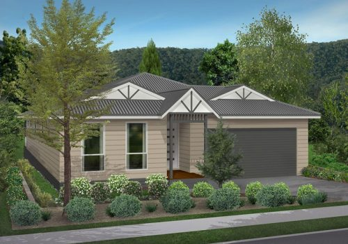 Weatherboard Unit Yarra Junction - Artists Impression