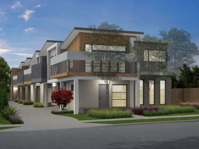 6 x Two Story Units Lilydale - Artists Design